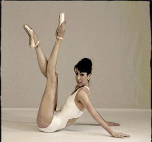 Pointe my ballet