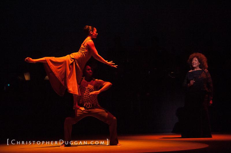 jessye norman, revelations with alvin ailey