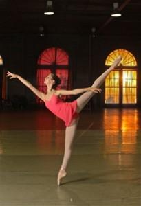 summer intensive ballet student