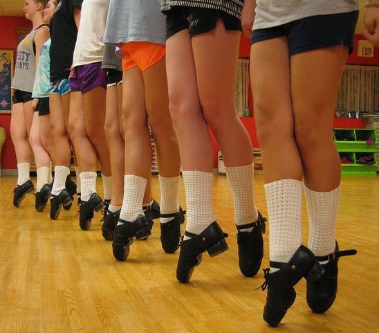 Dancing Shoes Drawing Hard Shoes For Irish Dance