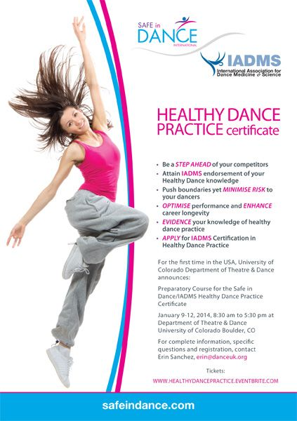 Healthy Dance Practice Certification Course