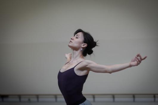 Giselle rehearsal, Milwaukee Ballet