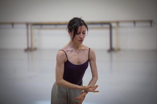 Luz San Miguel rehearses Giselle