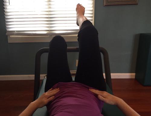 Core leg lift 1