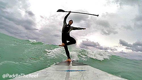 Ballet on a SUP - Miami Beach