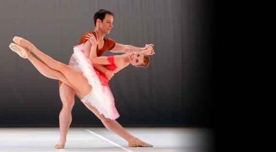 Pennsylvania Ballet dancers