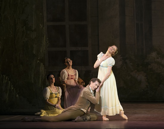 Ashley Ellis dances in Onegin
