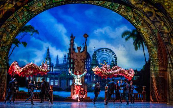 Chinese Dancer in Joffrey's Nutcracker