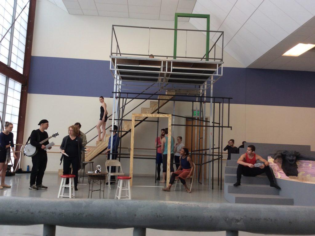 Atlanta Ballet rehearses Camino Real