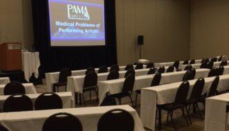 Coverage: Performing Arts Medicine Association (PAMA) Symposium 2017